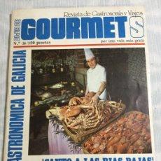 Coleccionismo de Revista Temas Españoles: REVISTA! GUÍA CLUB GOURMETS DE GALICIA N26; 1977. Lote 147402878