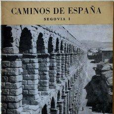 Coleccionismo de Revista Temas Españoles: CAMINOS DE ESPAÑA, SEGOVIA - LEÓN, 1958-1959. Lote 148080694