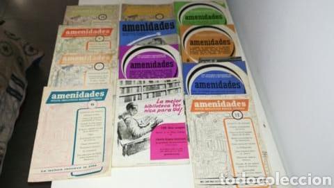 REVISTAS AÑOS 60 AMENIDADES (Papel - Revistas y Periódicos Modernos (a partir de 1.940) - Revista Temas Españoles)