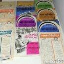 Coleccionismo de Revista Temas Españoles: REVISTAS AÑOS 60 AMENIDADES. Lote 148485337