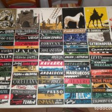 Coleccionismo de Revista Temas Españoles: LOTE DE 68 EJEMPLARES - TEMAS ESPAÑOLES - AÑO 1952 A 1954 - TODOS LOS TÍTULOS EN LAS IMÁGENES. Lote 149648918