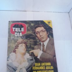 Coleccionismo de Revista Temas Españoles: REVISTA TELEDIA NÚMERO 18 DEL 4 AL 10 DE FEBRERO DEL 1973. Lote 150084709