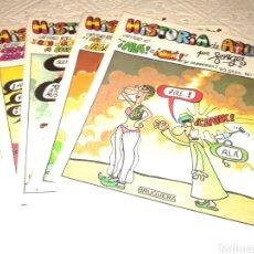 Coleccionismo de Revista Temas Españoles: LOTE DE 4 NUMEROS ; HISTORIA DE AQUI POR FORGES. NUMEROS 8,12,15,18. DE BRUGUERA. Lote 151532922