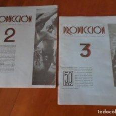Coleccionismo de Revista Temas Españoles: REVISTAS PRODUCCION NACIONAL-SINDICALISTA LEON. Lote 151932830