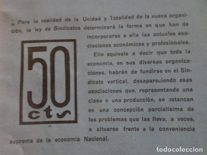 Coleccionismo de Revista Temas Españoles: REVISTAS PRODUCCION NACIONAL-SINDICALISTA LEON - Foto 4 - 151932830