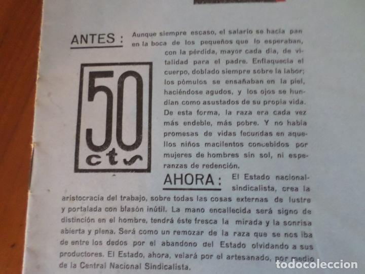 Coleccionismo de Revista Temas Españoles: REVISTAS PRODUCCION NACIONAL-SINDICALISTA LEON - Foto 6 - 151932830