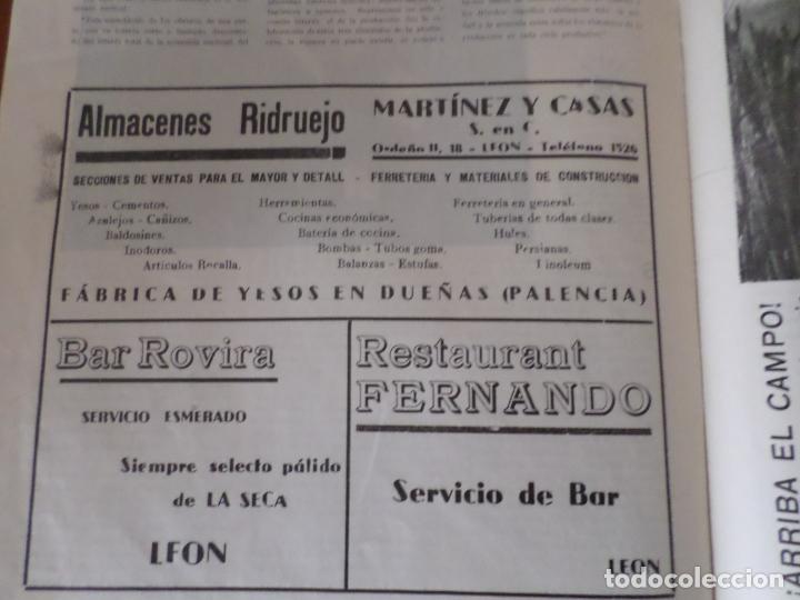 Coleccionismo de Revista Temas Españoles: REVISTAS PRODUCCION NACIONAL-SINDICALISTA LEON - Foto 7 - 151932830