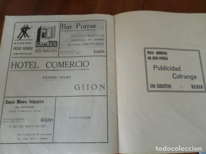 Coleccionismo de Revista Temas Españoles: REVISTAS PRODUCCION NACIONAL-SINDICALISTA LEON - Foto 8 - 151932830