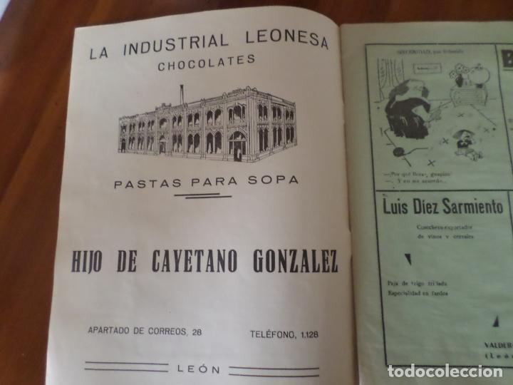 Coleccionismo de Revista Temas Españoles: REVISTAS PRODUCCION NACIONAL-SINDICALISTA LEON - Foto 9 - 151932830
