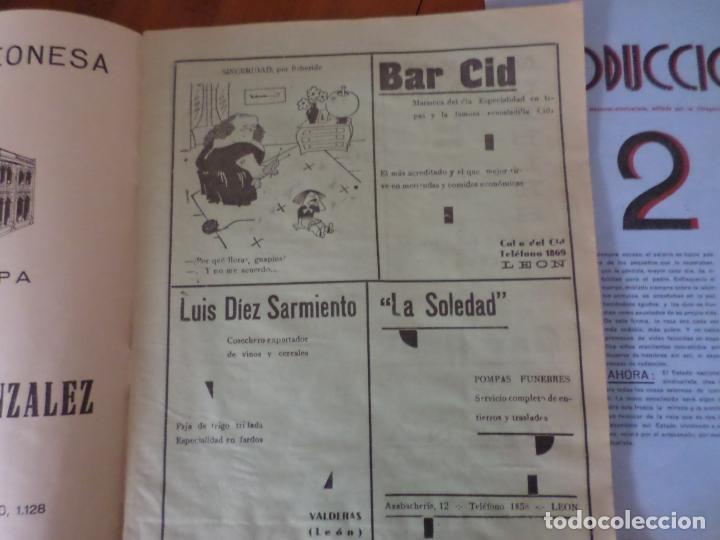 Coleccionismo de Revista Temas Españoles: REVISTAS PRODUCCION NACIONAL-SINDICALISTA LEON - Foto 10 - 151932830