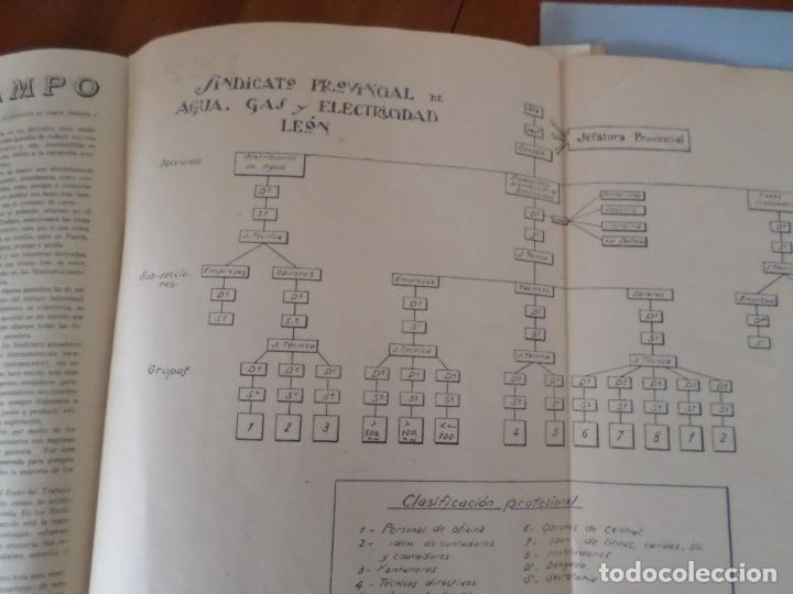 Coleccionismo de Revista Temas Españoles: REVISTAS PRODUCCION NACIONAL-SINDICALISTA LEON - Foto 12 - 151932830