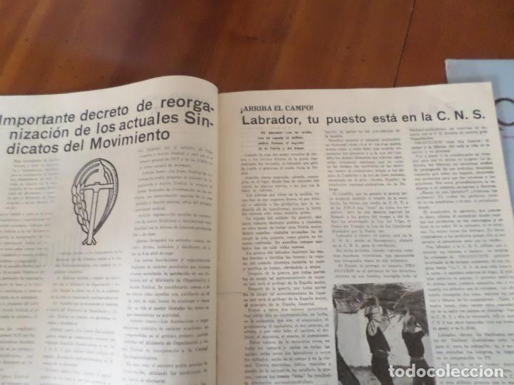Coleccionismo de Revista Temas Españoles: REVISTAS PRODUCCION NACIONAL-SINDICALISTA LEON - Foto 13 - 151932830
