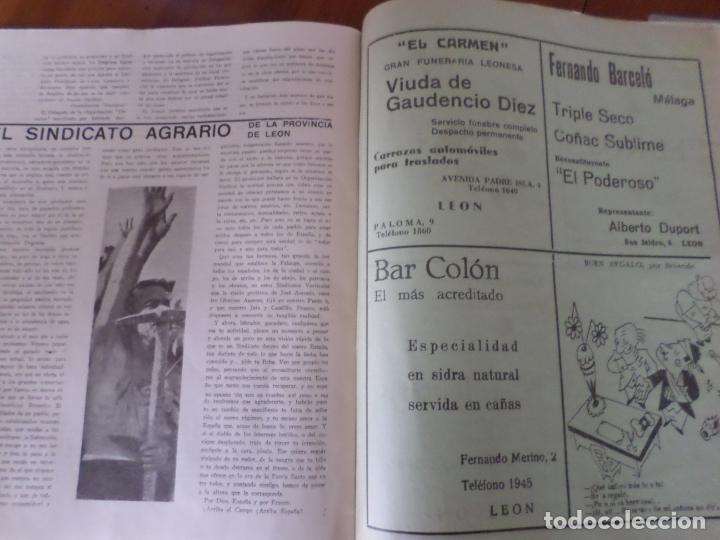 Coleccionismo de Revista Temas Españoles: REVISTAS PRODUCCION NACIONAL-SINDICALISTA LEON - Foto 15 - 151932830