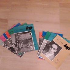 Coleccionismo de Revista Temas Españoles: 11 REVISTAS BOLETÍN DEL FUNCIONARIO AÑOS 66 Y 67.. Lote 153320517