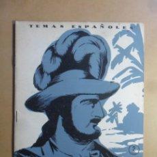 Coleccionismo de Revista Temas Españoles: Nº 141 - REVISTA TEMAS ESPAÑOLES - LEGAZPI - 1954. Lote 154986562