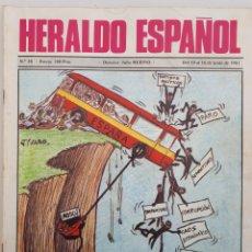 Coleccionismo de Revista Temas Españoles: HERALDO ESPAÑOL. NO. 58 -- 1981. Lote 158016074