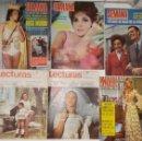 Coleccionismo de Revista Temas Españoles: LOTE REVISTAS SEMANA LECTURAS MISS. Lote 159048682