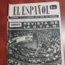 Coleccionismo de Revista Temas Españoles: SEMANARIO EL ESPAÑOL 1959. Lote 159159880