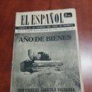 Coleccionismo de Revista Temas Españoles: EL ESPAÑOL , SEMANARIO 1959. Lote 159160176