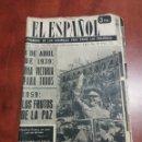 Coleccionismo de Revista Temas Españoles: SEMANARIO EL ESPAÑOL 1959. Lote 159160568