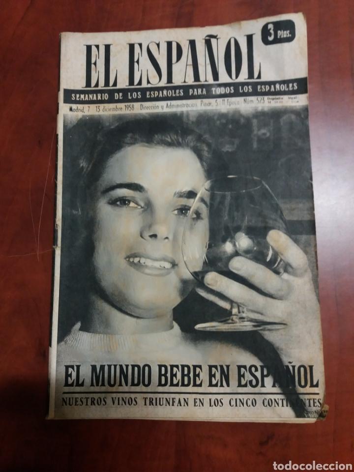 SEMANARIO EL ESPAÑOL 1958 (Papel - Revistas y Periódicos Modernos (a partir de 1.940) - Revista Temas Españoles)