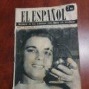 Coleccionismo de Revista Temas Españoles: SEMANARIO EL ESPAÑOL 1958. Lote 159160762