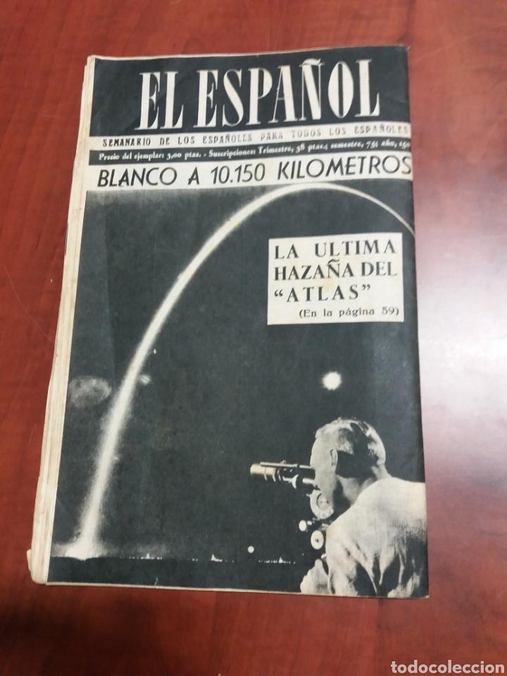 Coleccionismo de Revista Temas Españoles: Semanario El Español 1958 - Foto 7 - 159160762
