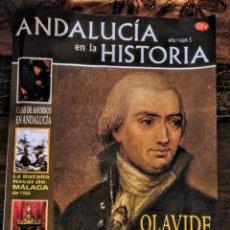 Collectionnisme de Magazine Temas Españoles: OLAVIDE Y LA COLONIZACIÓN DE SIERRA MORENA. REVISTA ANDALUCÍA EN LA HISTORIA. Lote 159381129