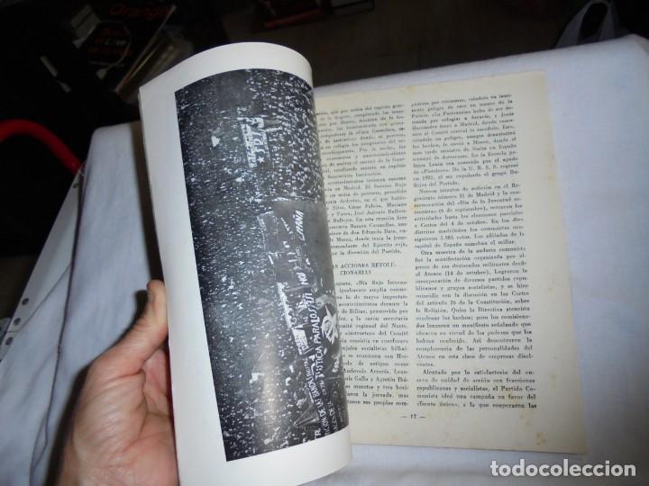 Coleccionismo de Revista Temas Españoles: EL COMUNISMO EN ESPAÑA.EDUARDO COMIN COLOMER.TEMAS ESPAÑOLES Nº 49.-MADRID 1953 - Foto 3 - 161021434