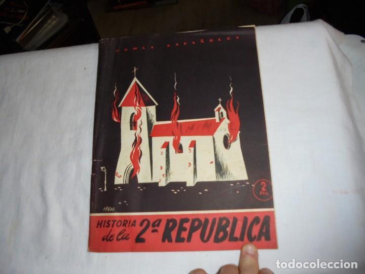 HISTORIA DE LA 2ª REPUBLICA.BERTA PENSADO.TEMAS ESPAÑOLES Nº 71.-MADRID 1953 (Papel - Revistas y Periódicos Modernos (a partir de 1.940) - Revista Temas Españoles)