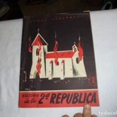 Coleccionismo de Revista Temas Españoles: HISTORIA DE LA 2ª REPUBLICA.BERTA PENSADO.TEMAS ESPAÑOLES Nº 71.-MADRID 1953. Lote 161021838