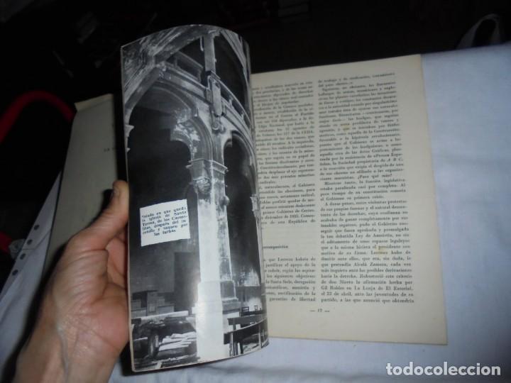 Coleccionismo de Revista Temas Españoles: HISTORIA DE LA 2ª REPUBLICA.BERTA PENSADO.TEMAS ESPAÑOLES Nº 71.-MADRID 1953 - Foto 3 - 161021838