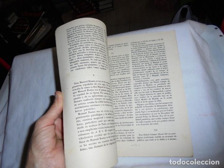 Coleccionismo de Revista Temas Españoles: ESCRITORES ASESINADOS POR LOS ROJOS.JORGE SANZ Y DIAZ.TEMAS ESPAÑOLES Nº47.-MADRID 1953 - Foto 5 - 161021982