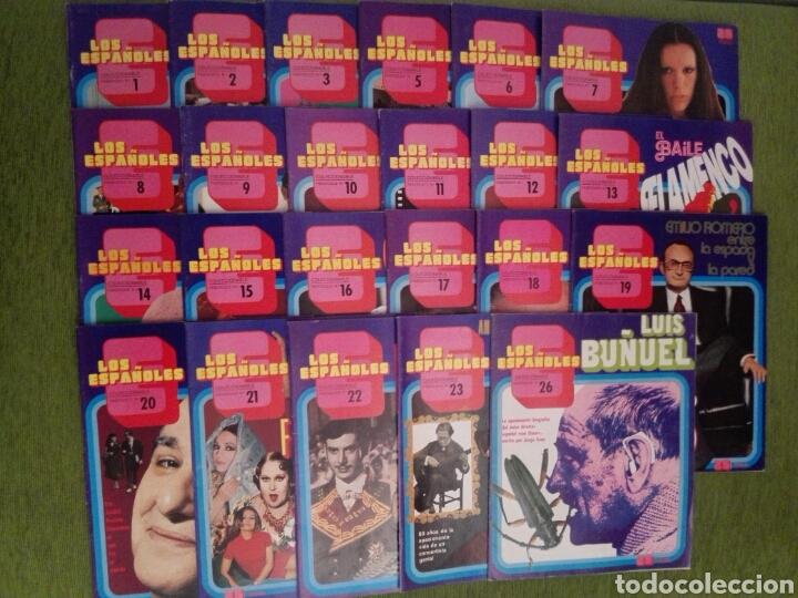 COLECCIONABLE LOS ESPAÑOLES AÑO 1972. LOTE DE 23 REVISTAS (Papel - Revistas y Periódicos Modernos (a partir de 1.940) - Revista Temas Españoles)