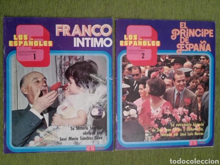 Coleccionismo de Revista Temas Españoles: COLECCIONABLE LOS ESPAÑOLES AÑO 1972. LOTE DE 23 REVISTAS - Foto 2 - 162350141