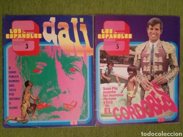 Coleccionismo de Revista Temas Españoles: COLECCIONABLE LOS ESPAÑOLES AÑO 1972. LOTE DE 23 REVISTAS - Foto 4 - 162350141