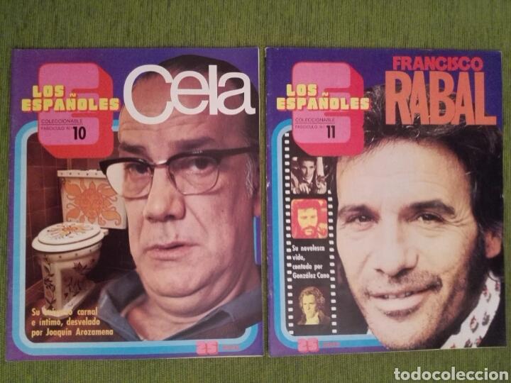 Coleccionismo de Revista Temas Españoles: COLECCIONABLE LOS ESPAÑOLES AÑO 1972. LOTE DE 23 REVISTAS - Foto 10 - 162350141