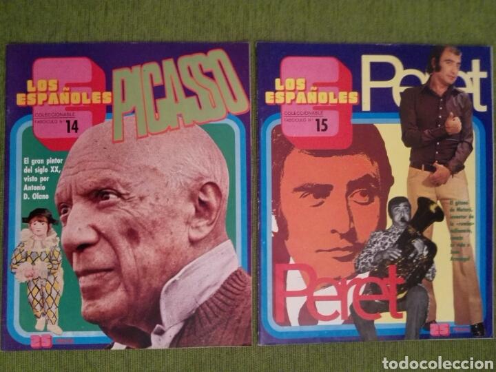 Coleccionismo de Revista Temas Españoles: COLECCIONABLE LOS ESPAÑOLES AÑO 1972. LOTE DE 23 REVISTAS - Foto 14 - 162350141