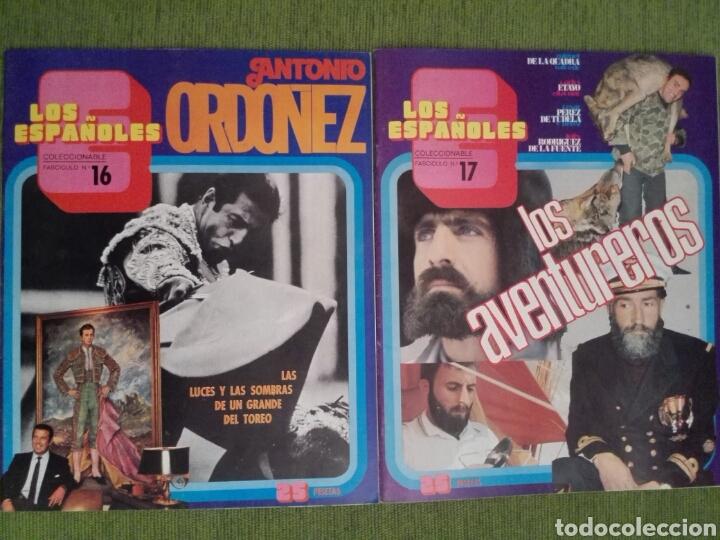 Coleccionismo de Revista Temas Españoles: COLECCIONABLE LOS ESPAÑOLES AÑO 1972. LOTE DE 23 REVISTAS - Foto 16 - 162350141