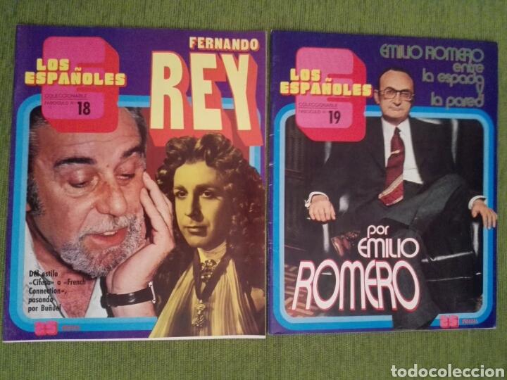 Coleccionismo de Revista Temas Españoles: COLECCIONABLE LOS ESPAÑOLES AÑO 1972. LOTE DE 23 REVISTAS - Foto 18 - 162350141