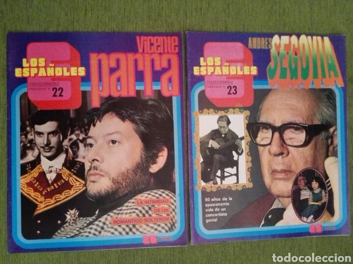 Coleccionismo de Revista Temas Españoles: COLECCIONABLE LOS ESPAÑOLES AÑO 1972. LOTE DE 23 REVISTAS - Foto 22 - 162350141