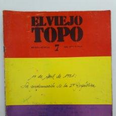 Coleccionismo de Revista Temas Españoles: L VIEJO TOPO. NO. 7, ABRIL 1977. Lote 163455554
