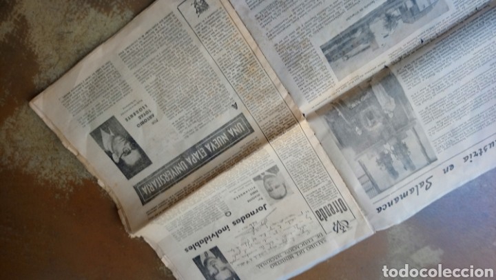 Coleccionismo de Revista Temas Españoles: Vitor. Suplemento de el adelanto domingo 11 octubre 1953 salamanca . Torres Villarroel, unamuno. - Foto 2 - 169807986
