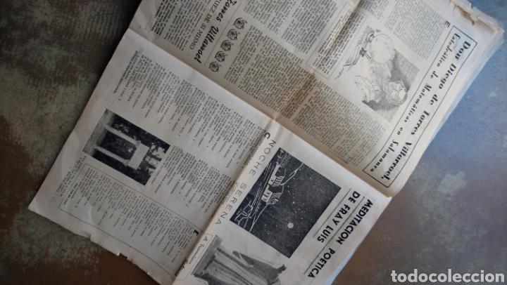 Coleccionismo de Revista Temas Españoles: Vitor. Suplemento de el adelanto domingo 11 octubre 1953 salamanca . Torres Villarroel, unamuno. - Foto 3 - 169807986
