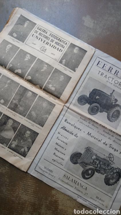 Coleccionismo de Revista Temas Españoles: Vitor. Suplemento de el adelanto domingo 11 octubre 1953 salamanca . Torres Villarroel, unamuno. - Foto 4 - 169807986