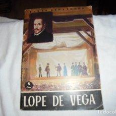 Coleccionismo de Revista Temas Españoles: TEMAS ESPAÑOLES.VIDA Y OBRA DE LOPE DE VEGA.ANTONIO OLIVER BELMAS.MADRID 1963. Lote 172285867