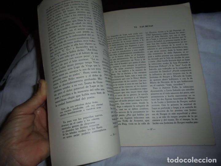 Coleccionismo de Revista Temas Españoles: TEMAS ESPAÑOLES.VIDA Y OBRA DE LOPE DE VEGA.ANTONIO OLIVER BELMAS.MADRID 1963 - Foto 4 - 172285867