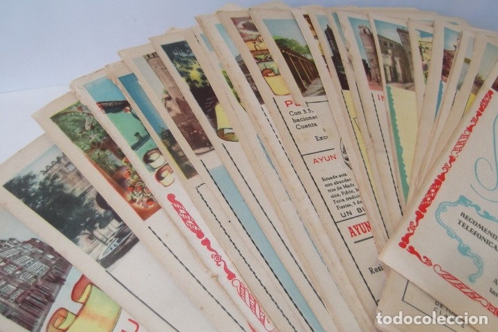 # PROVINCIAS DE ESPAÑA # LAMINAS #PUBLICIDAD DE EPOCA #CIRCA 1950-1960 # (Papel - Revistas y Periódicos Modernos (a partir de 1.940) - Revista Temas Españoles)