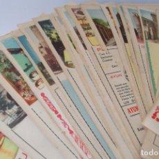 Coleccionismo de Revista Temas Españoles: # PROVINCIAS DE ESPAÑA # LAMINAS #PUBLICIDAD DE EPOCA #CIRCA 1950-1960 #. Lote 172337689
