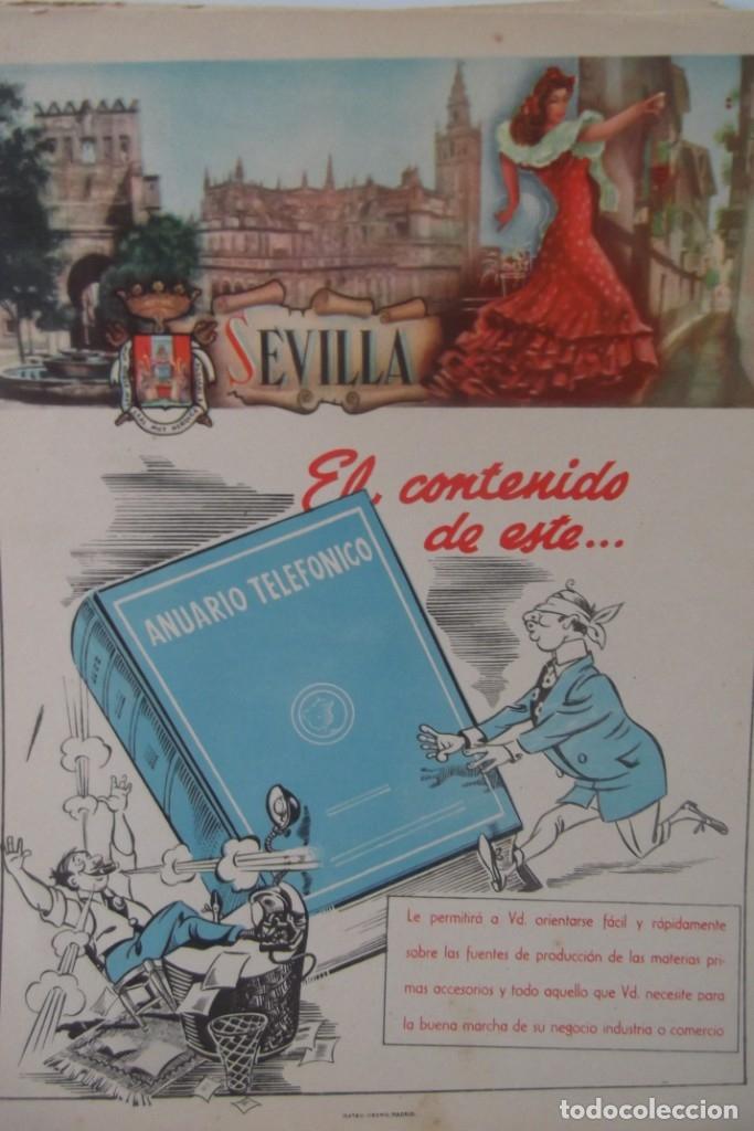 Coleccionismo de Revista Temas Españoles: # PROVINCIAS DE ESPAÑA # LAMINAS #PUBLICIDAD DE EPOCA #CIRCA 1950-1960 # - Foto 3 - 172337689
